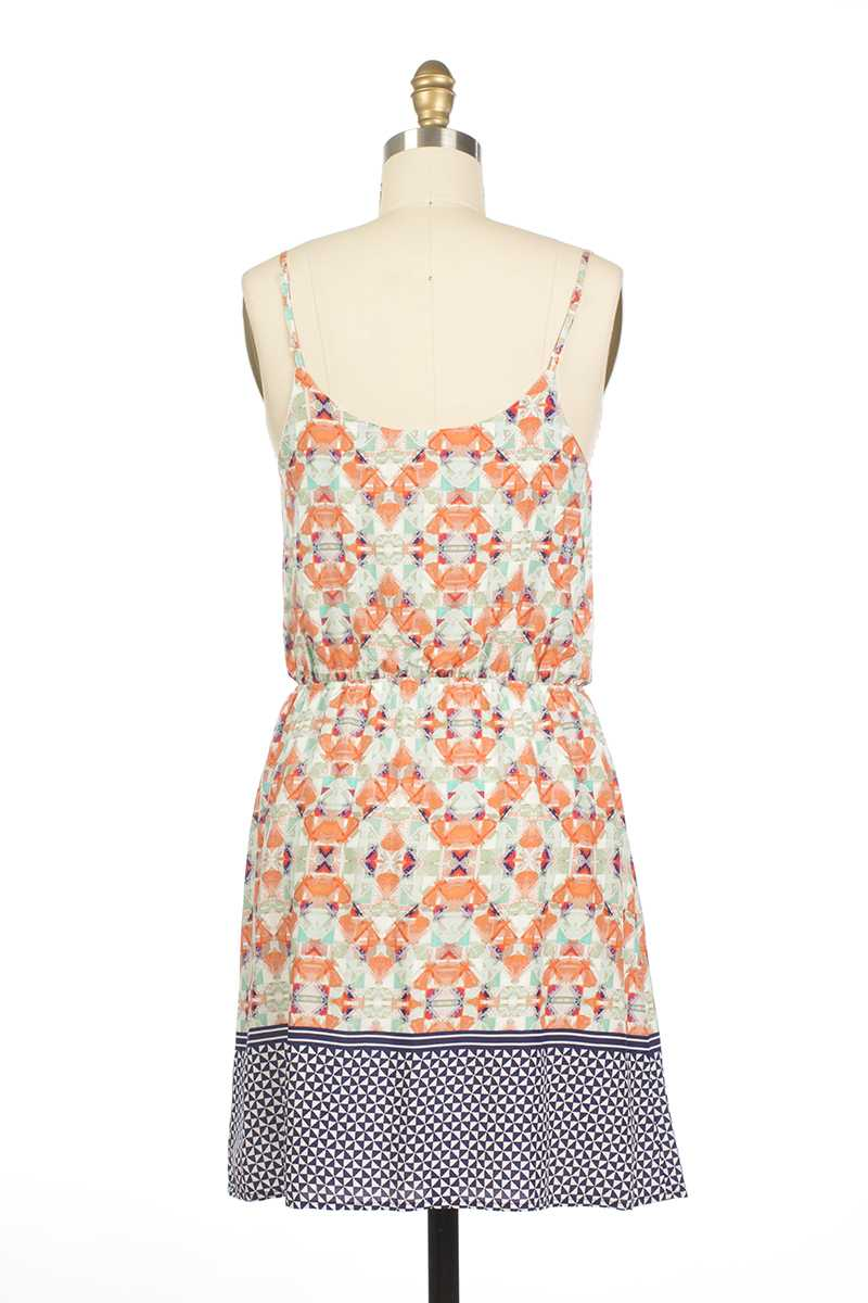 Everly Eileen Tribal Print Dress - Talis Collection