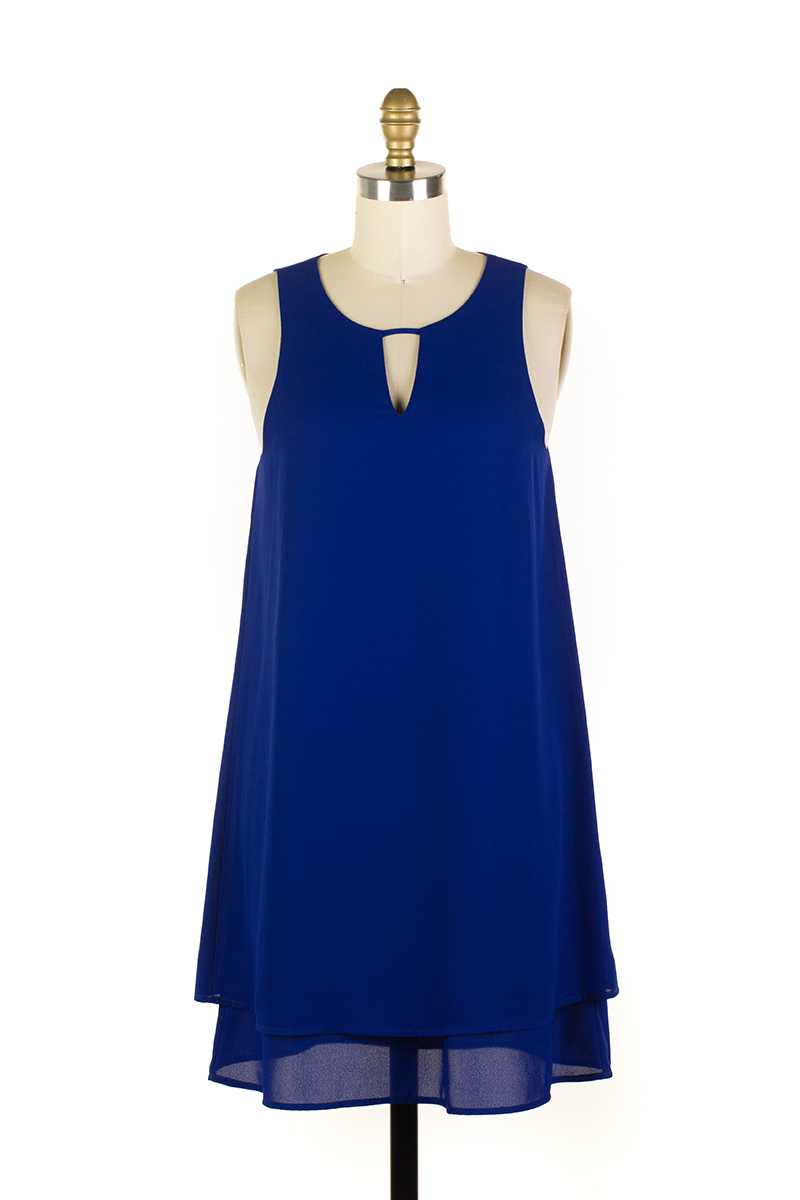 Everly Layered Shift Dress