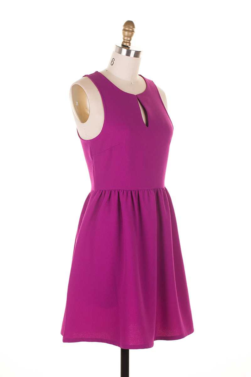 Everly Angela Sleeveless Skater Dress - Talis Collection