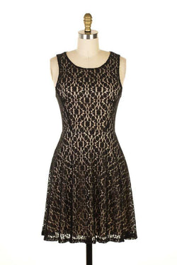 Everly Lace Tank Dress