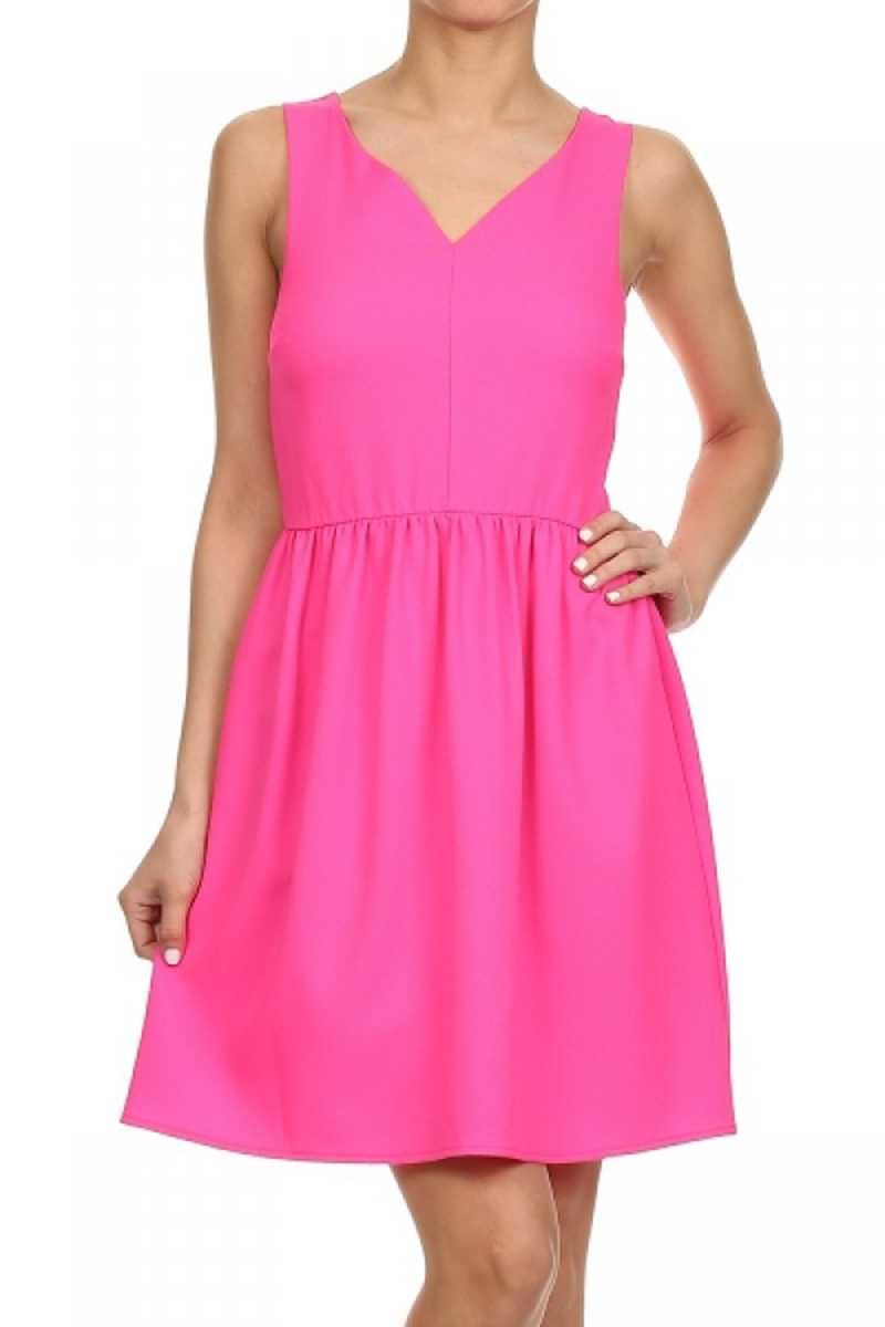 Everly Melissa Fit and Flare Dress