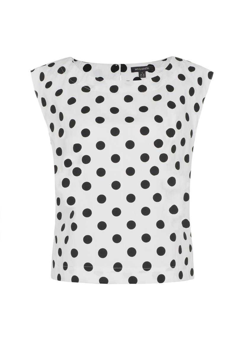 Emily and Fin Edna Top Polka Dot - Talis Collection