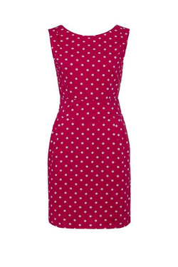 Emily and Fin Raspberry with White Polka Robyn Dress - Talis Collection