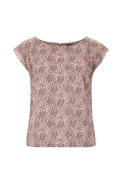 Emily and Fin Edna Top Pink with Black Star - Talis Collection