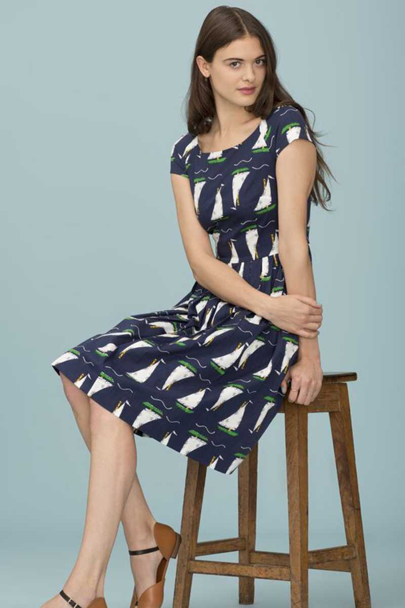 Emily and Fin Claudia Dress Cruising British Size XS - Talis Collection