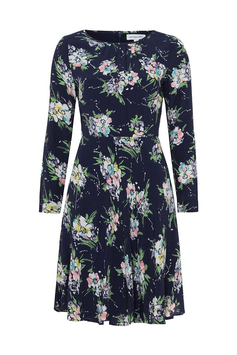 Emily and Fin Elinor Dress Parisian Wild Floral - Talis Collection