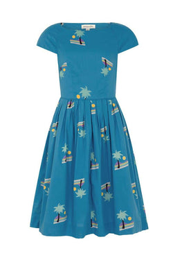 Emily and Fin Claudia Dress Blue Sunset Island - Talis Collection