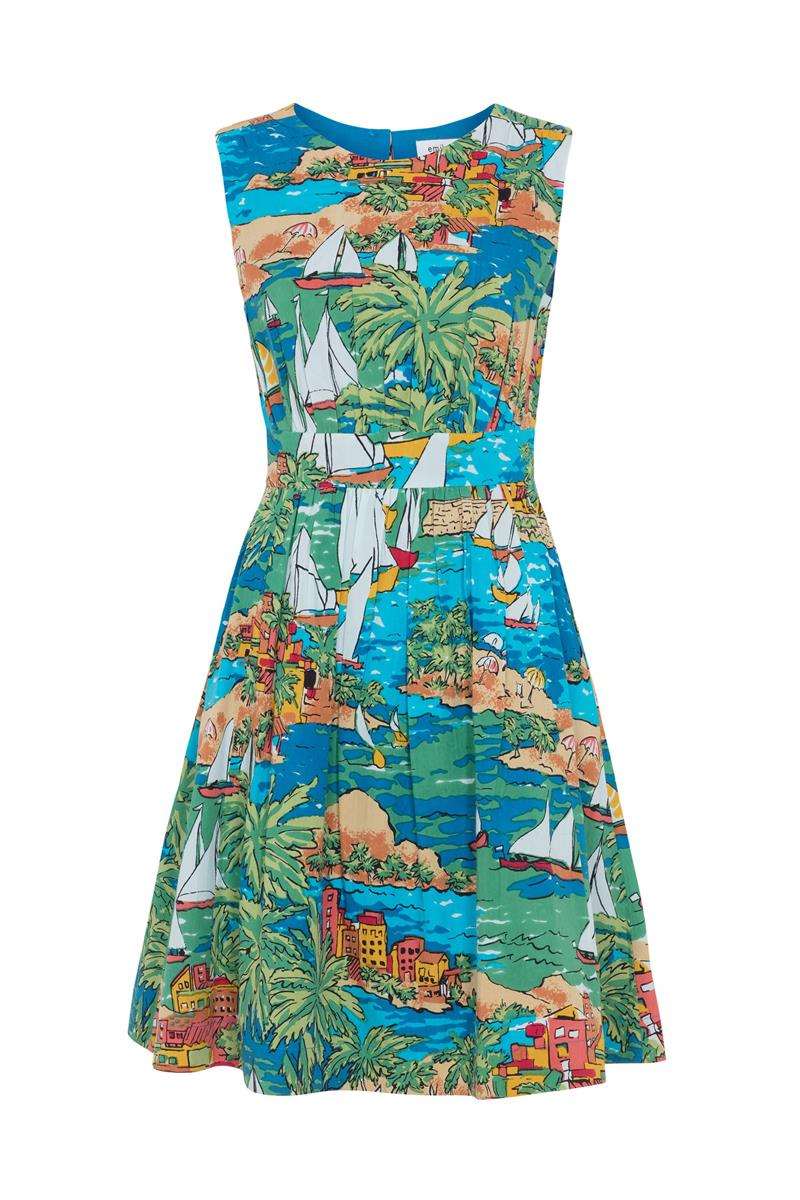 Emily and Fin Lucy Dress San Jose Bay Size XL - Talis Collection