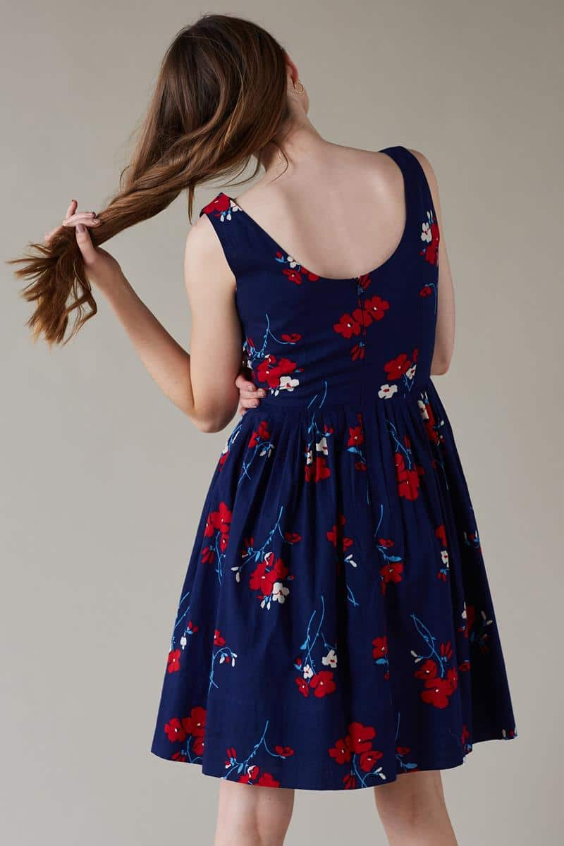 Emily and Fin Abigail Dress Spring Florets - Talis Collection