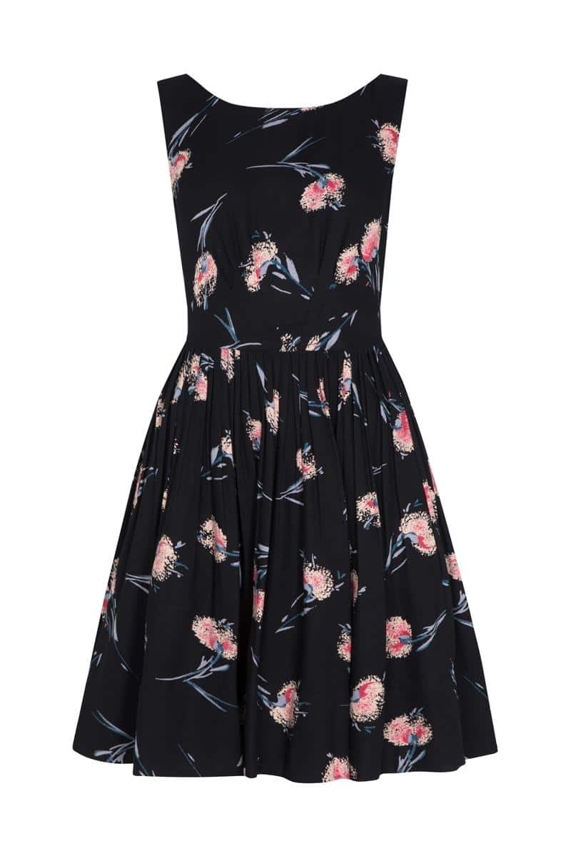 Emily and Fin Abigail Dress Pom Pom Floral - Talis Collection