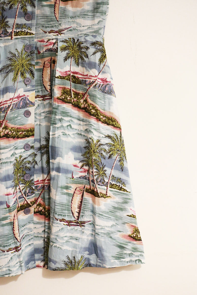 Emily and Fin Kate Dress Pacific Island Paradise - Talis Collection