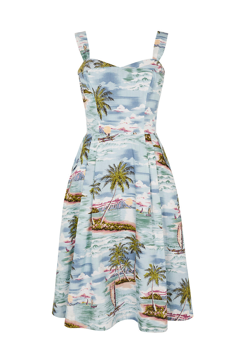 Emily and Fin Pippa Dress Pacific Island Paradise - Talis Collection