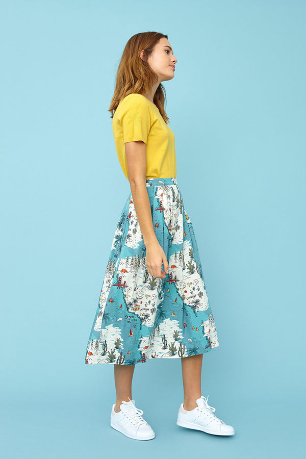Emily and Fin Faye Skirt Long Golden State - Talis Collection