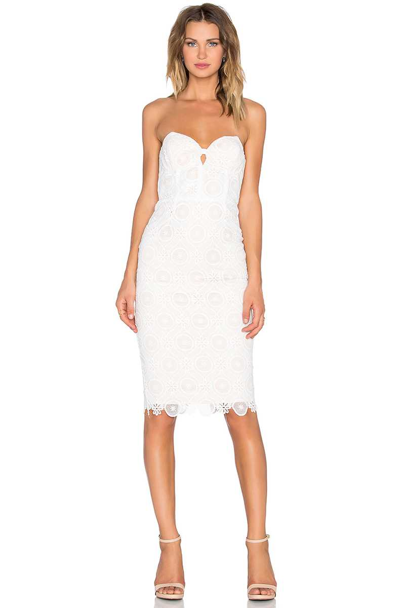 Elliatt Star Bandeau Lace Dress - Talis Collection