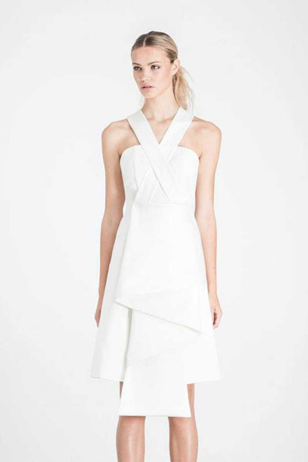 Elliatt Curator Dress White - Talis Collection