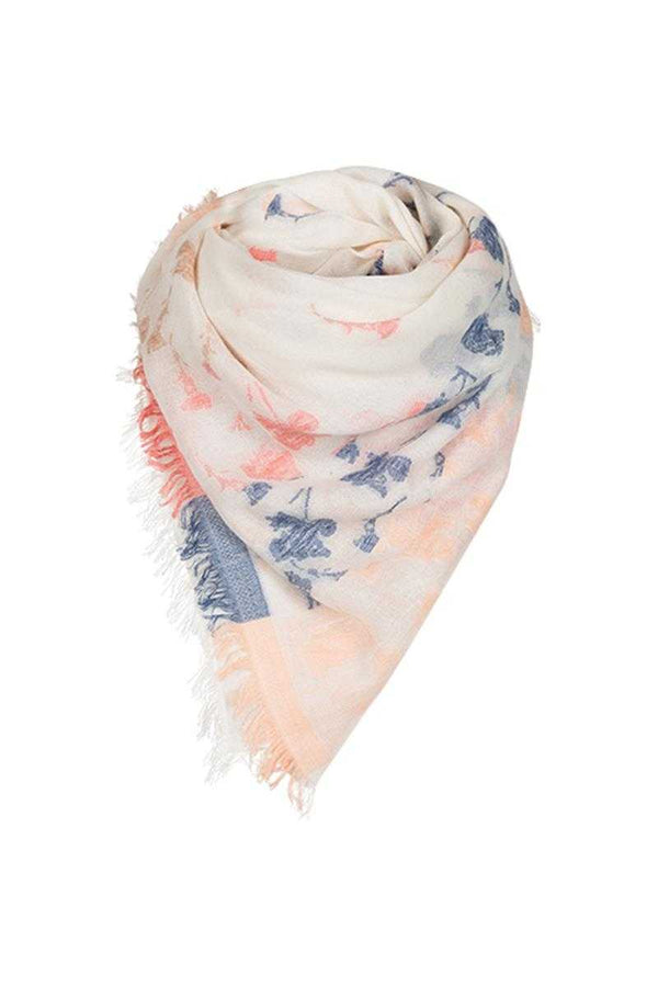 Erfurt Jacquard Cotton Scarf Camel - Talis Collection