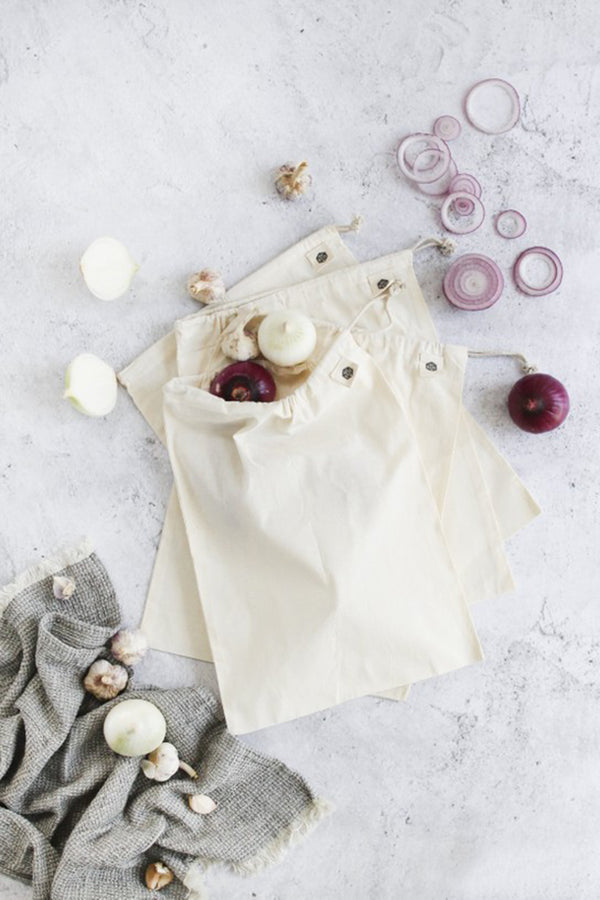Ever Eco Reusable Muslin Produce Bags Organic Cotton 1