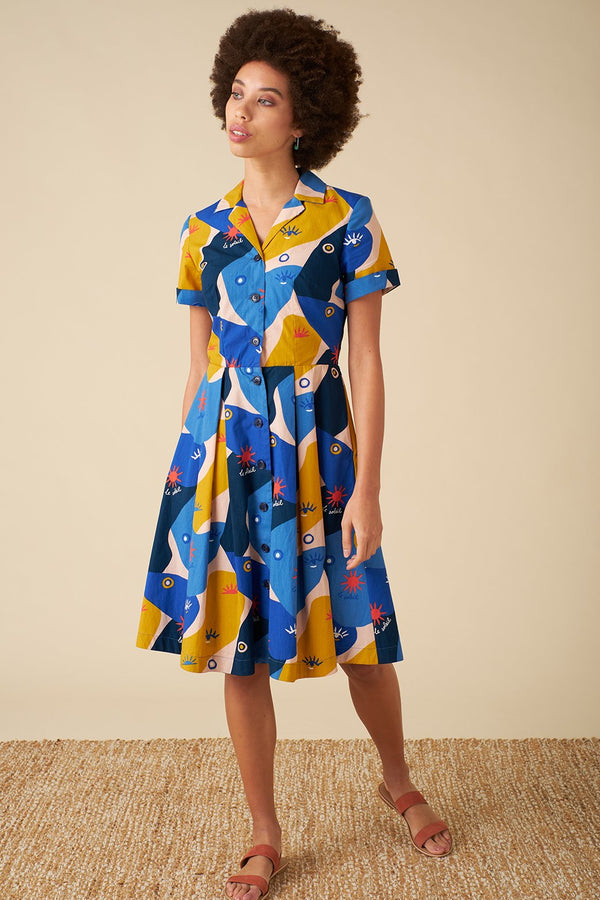 Emily and Fin Kate Shirt Dress Jardin Soleil
