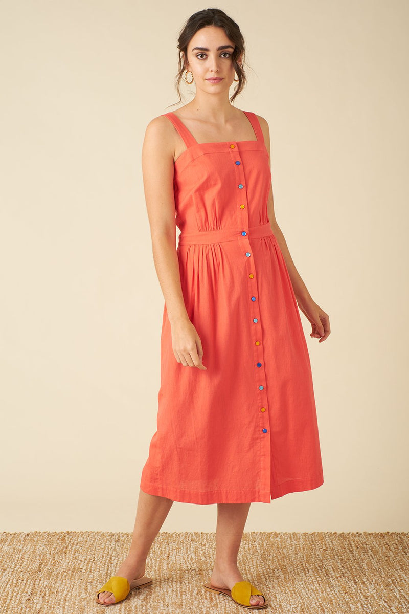 Emily and Fin Liana Dress Cadium Red PRE-ORDER