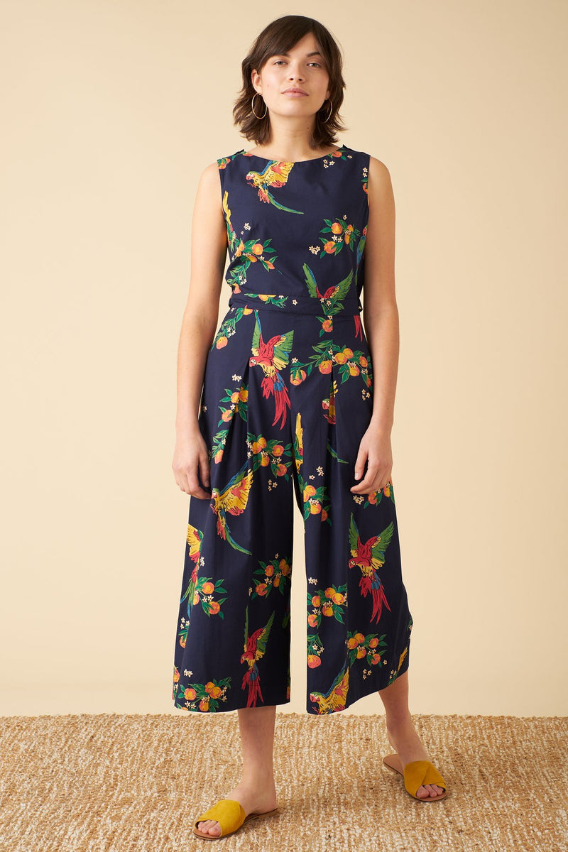 Emily and Fin Simone Playful Parrots Jumpsuit PRE-ORDER