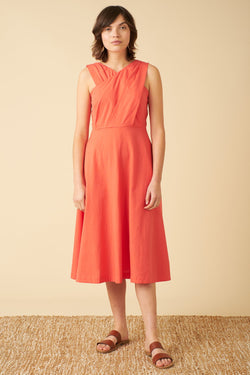 Emily and Fin Seline Cadium Red Dress PRE-ORDER