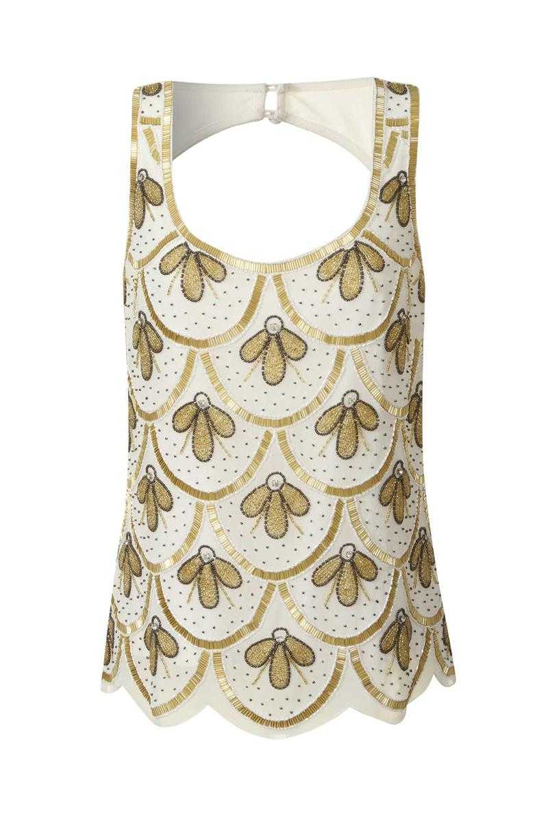 Frock and Frill Embellished Gatsby Vest