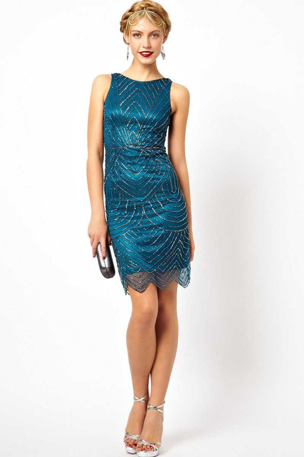 Frock and Frill Slinky Gatsby Dress