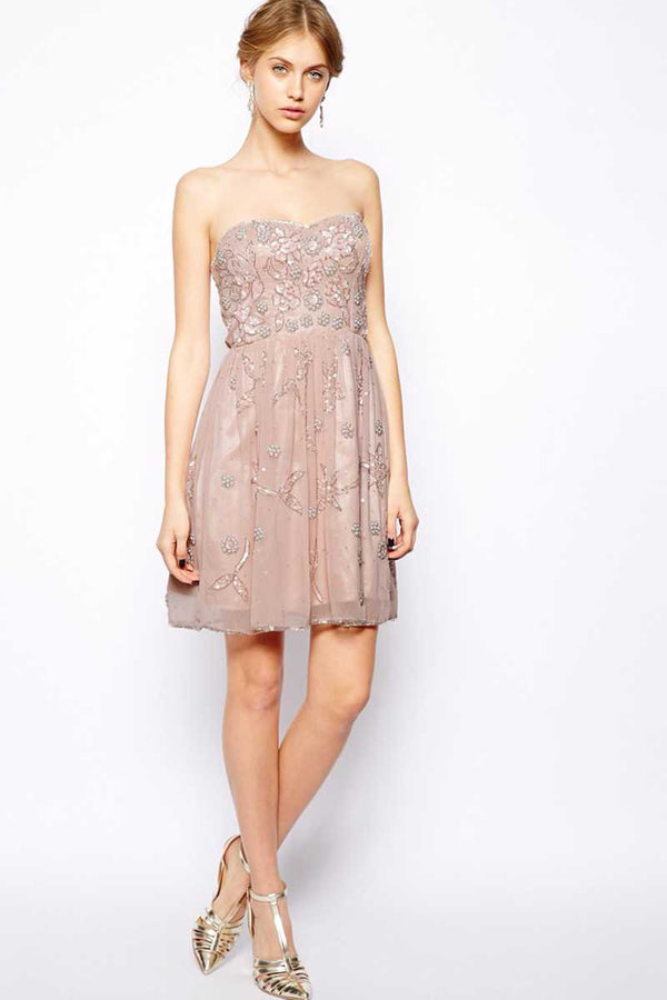 Frock and Frill Embellished Gatsby Dress