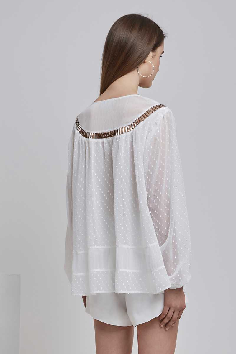 Finders Belle Top White