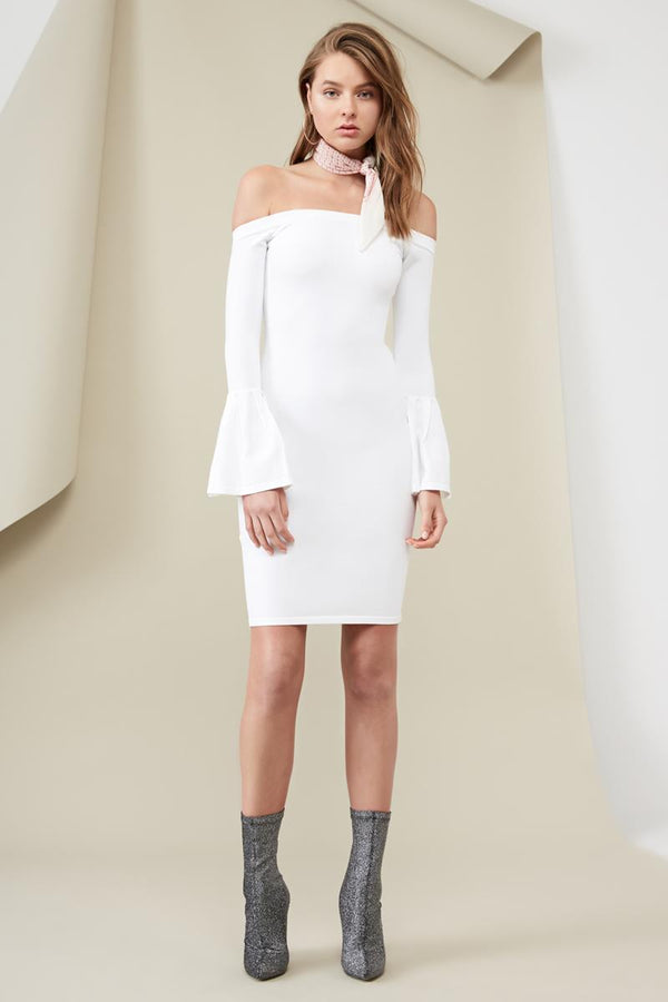 Finders Tori Knit Dress Cloud