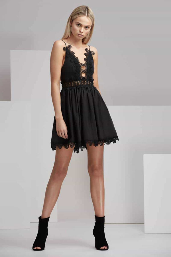 Finders Odelle Dress Black