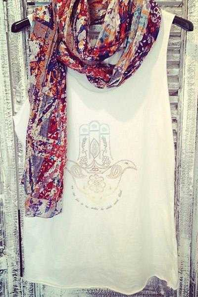 Alma Printed Scarf - Talis Collection