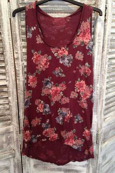 Beatrix Floral Vest - Talis Collection