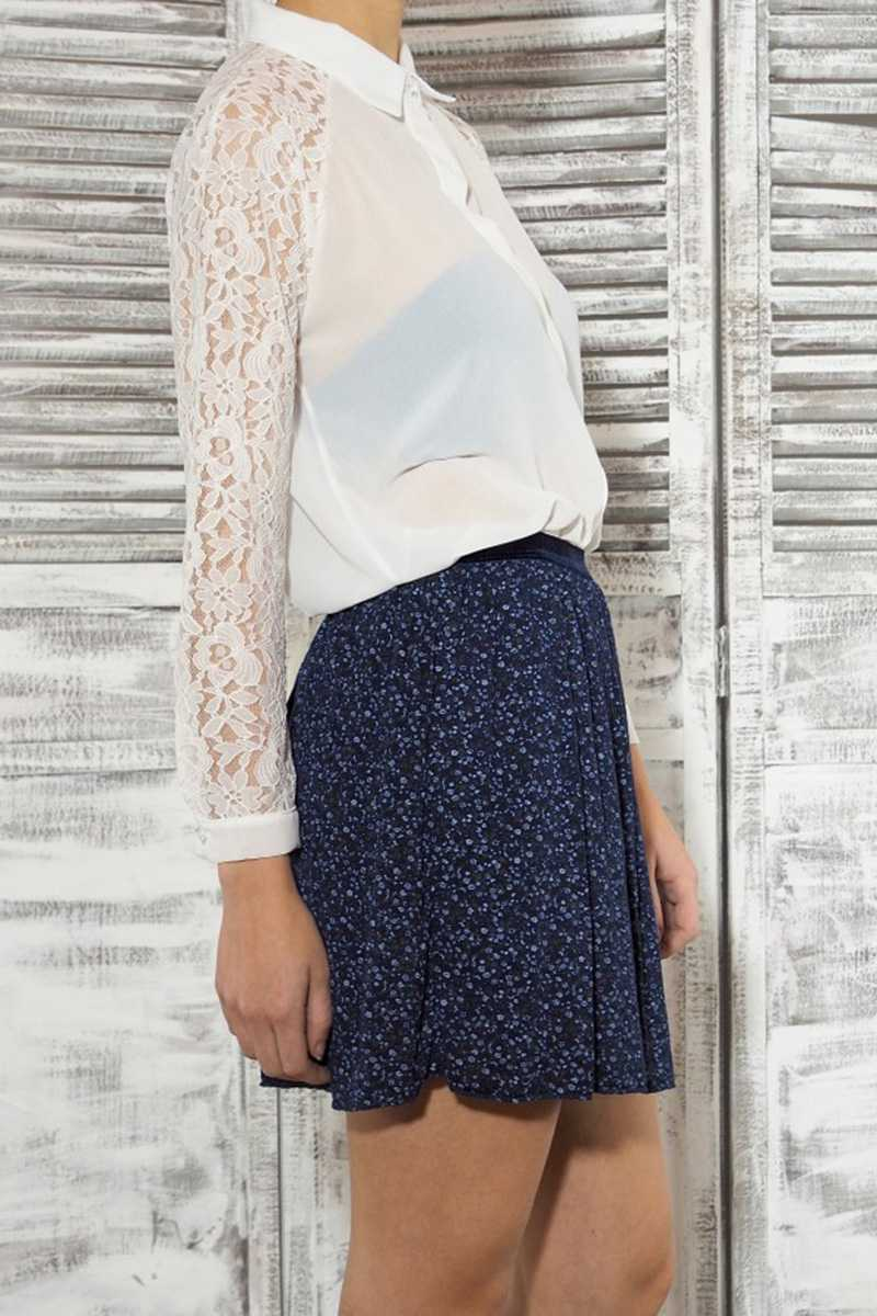 Eugenie Floral Mini Skirt - Talis Collection