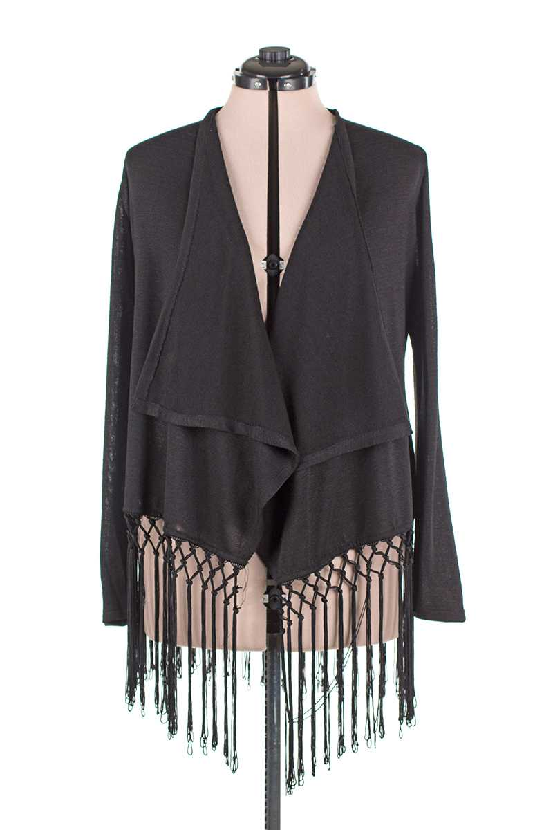 Alisa Tassel Trim Cardigan - Talis Collection