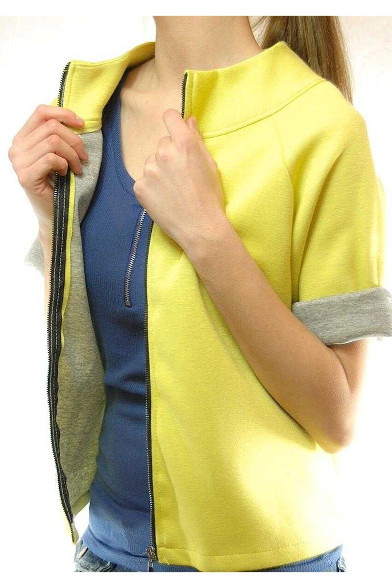 Zippy Vest Top