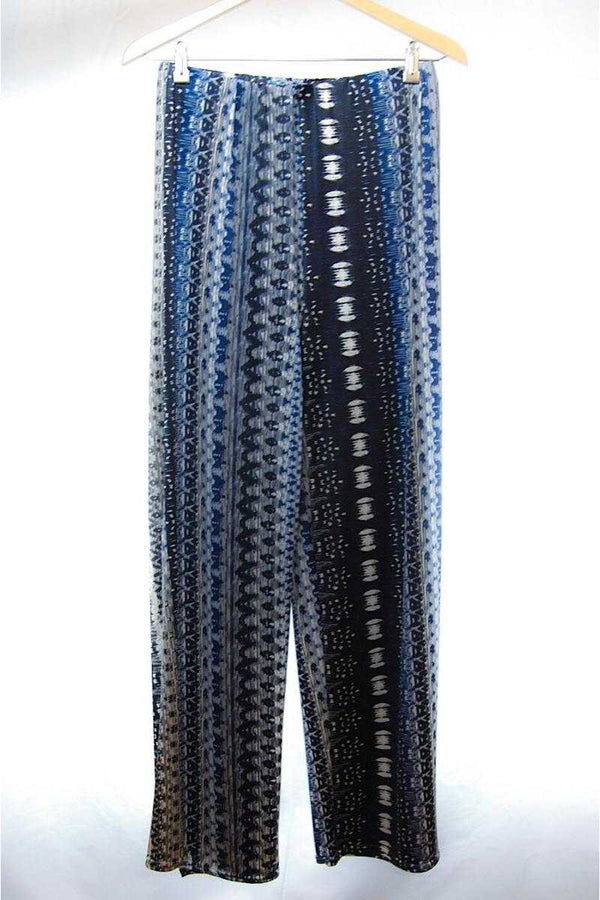 Abstract Printed Pants - Talis Collection