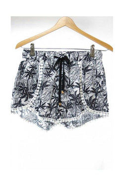 Shorts with Palm Tree Prints