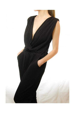 Deep V Jumpsuits - Talis Collection