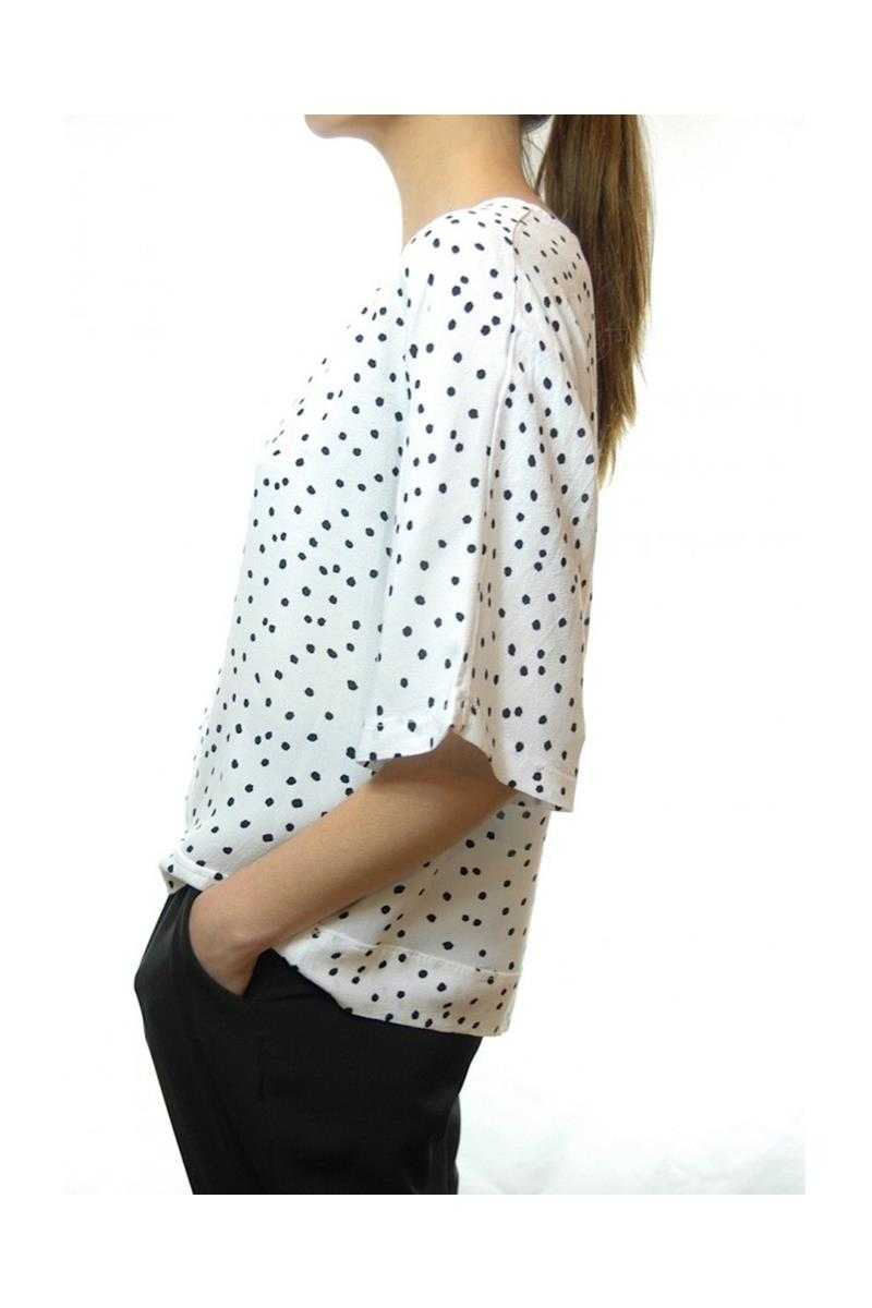 Dotty Blouse Top - Talis Collection