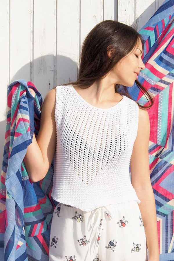 Perle Knitted Crop Top