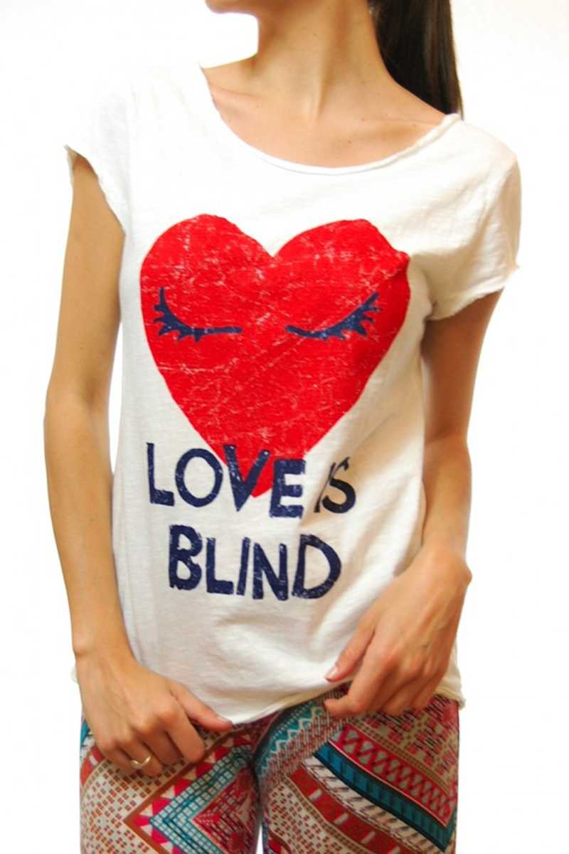 Love is Blind Tee