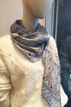 Agata Scarf in Paisley Print - Talis Collection