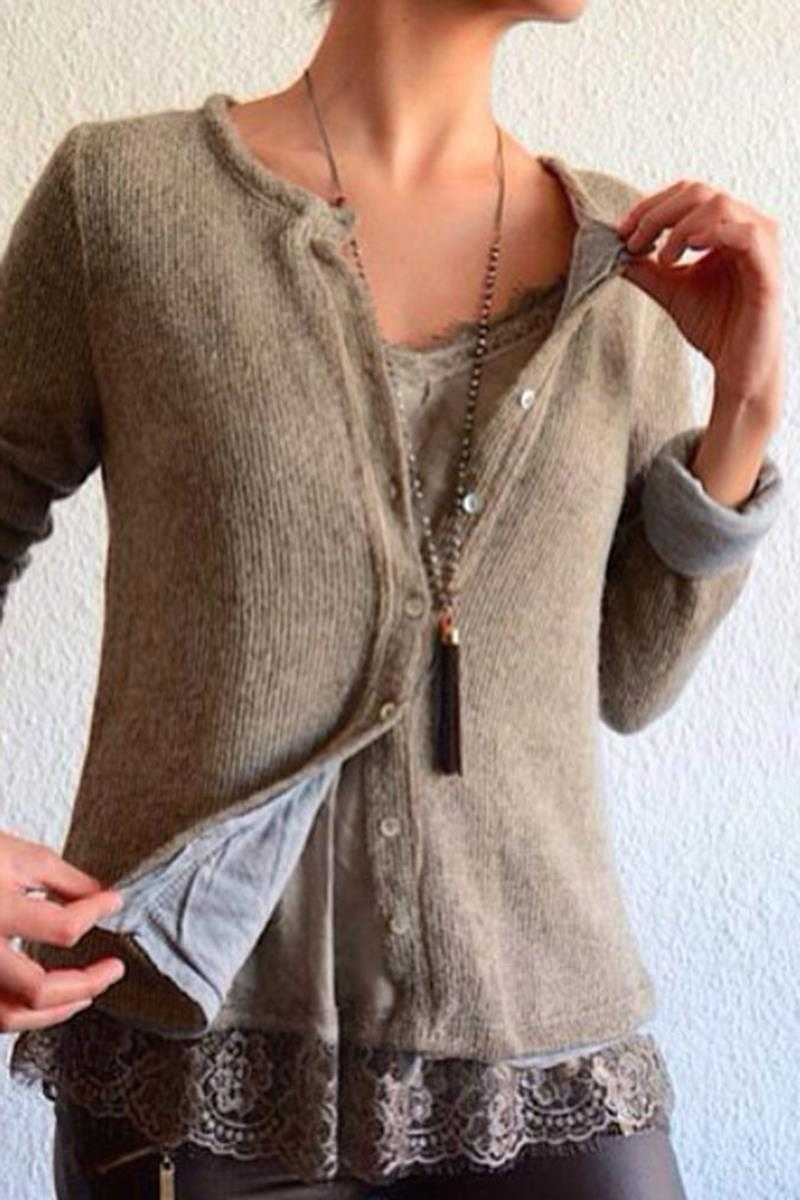 Banu Wool Cardigan - Talis Collection