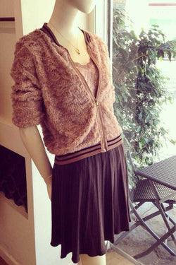 Jana Wool Skirt Brown