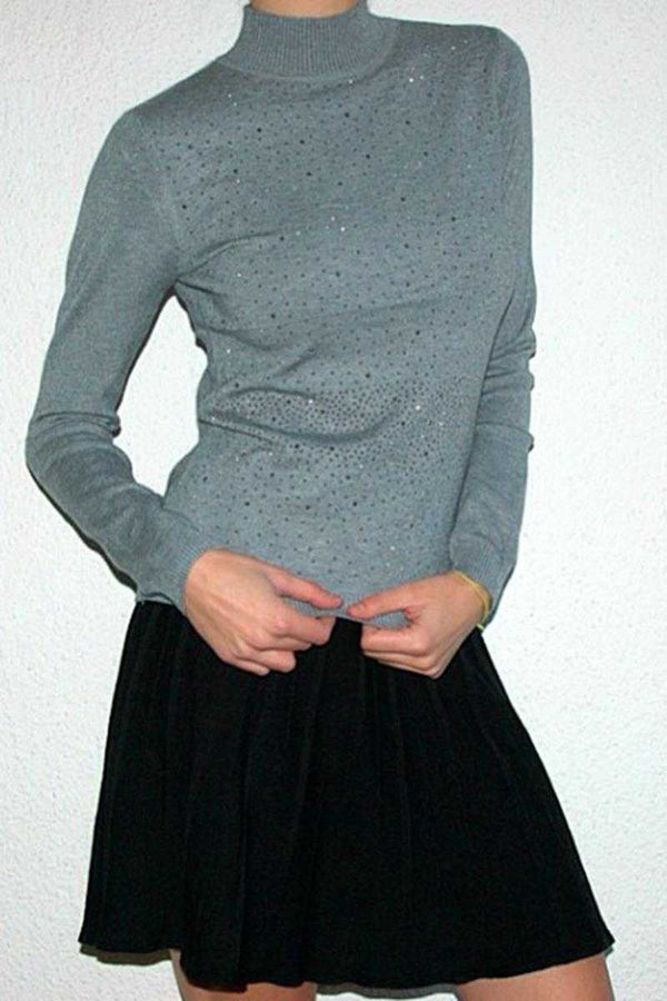 Jana Wool Skirt Black