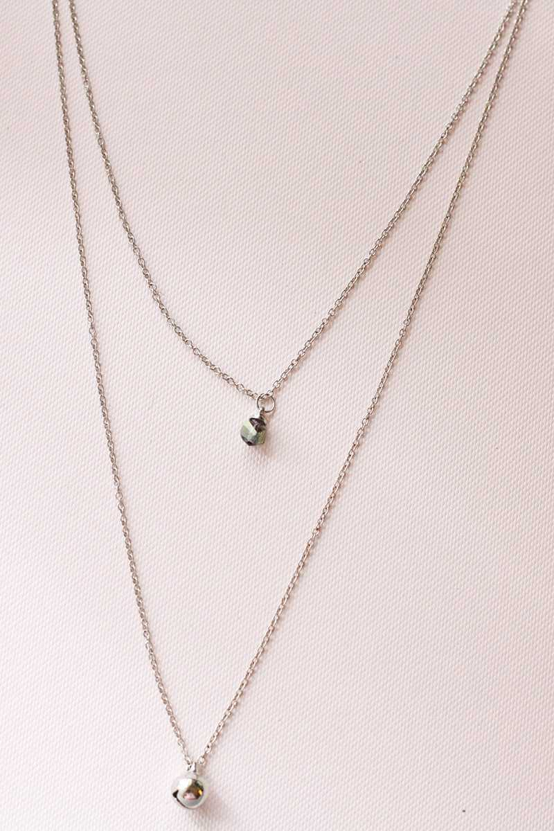 Double Chain Necklace - Talis Collection