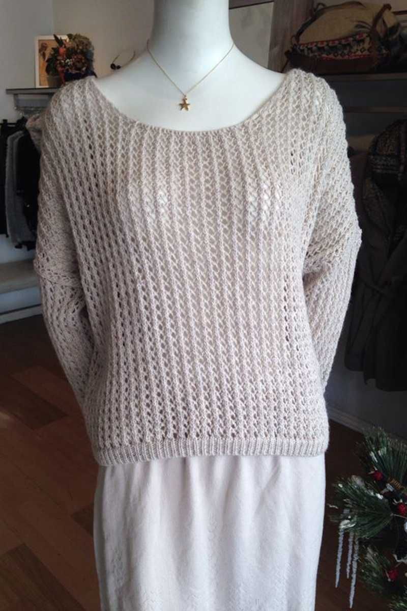 Ane Wool Knit Top - Talis Collection