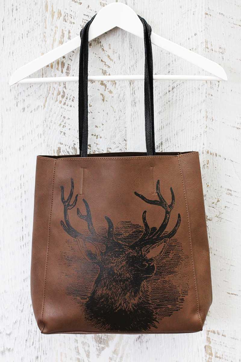 Quinta Leather Shopper Bag