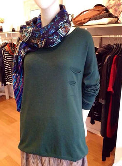 Lolitta Wool Top Green